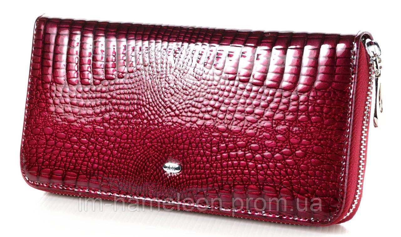 304686d88e94 Женский кожаный кошелек клатч на молнии ST большой натуральная кожа ...