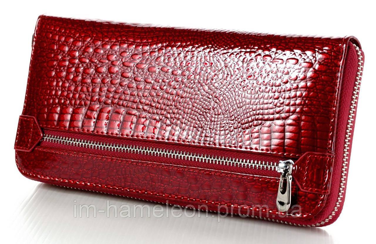 941df3beef4b Женский кожаный кошелек клатч на молнии ST большой натуральная кожа, ...