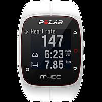 Спортивний годинник-пульсометр Polar M400 White HR