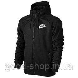 Мужская кофта Nike черного цвета