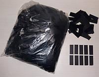 Конфетти метафан черный, 100 грамм