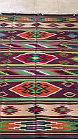 Килим доріжка ткана гуцульська з орнаментом 150*200 см