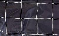 Сетка на ворота футзальные, гандбольные тренировочная (2шт)  (PE 2мм,яч 10x10см, р-р 2мx3мx1м)