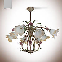 Люстра для большой комнаты на 8 лампочек 4780-4