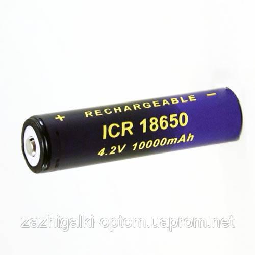 Аккумулятор HEXcell 18650-10000mAh, фиолетовый*