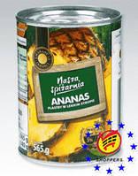 Ананас консервированный кольцами 565 г/340