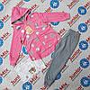 Детский трикотажный спортивный костюм  тройка для девочек  оптом Lemon Tree