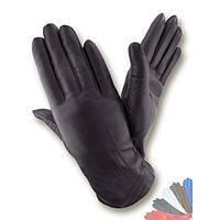 Женские перчатки из натуральной кожи на шерстяной подкладке модель 088.