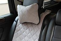 Автомобильная подушка на подголовник (цвет серый). Автоподушки AVторитет