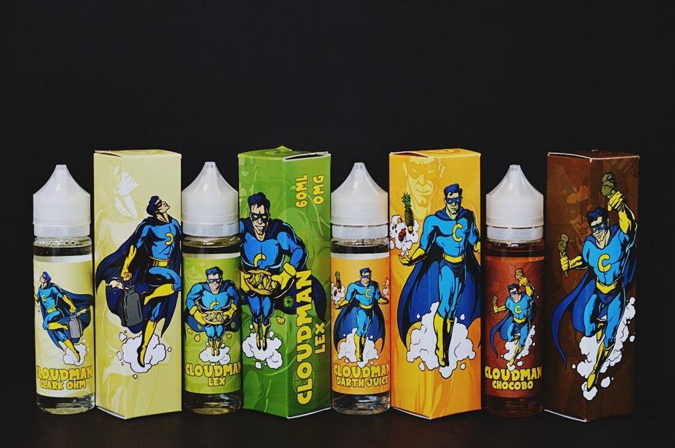 Жидкость для электронных сигарет Cloudman 60 мл Original