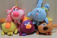 Мягкие игрушки Смешарики 11 см музыкальные