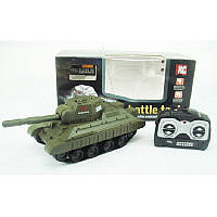 Танк радиоуправляемый Battle Tank, стреляет пластиковыми шариками, длина 25 см