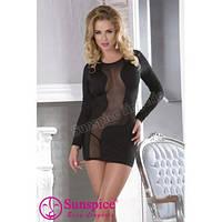 Платье черное с трусиками