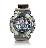 Часы XINJIA цифровые влагозащитные (хаки)