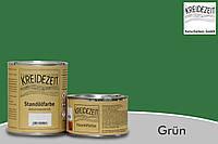 Стандолевая масляная краска жирная, верхний слой / Standölfarbe Schlussanstrich grun, зеленая  0,375 l