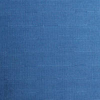 Рулонні штори Тканина Льон 2075 Синій