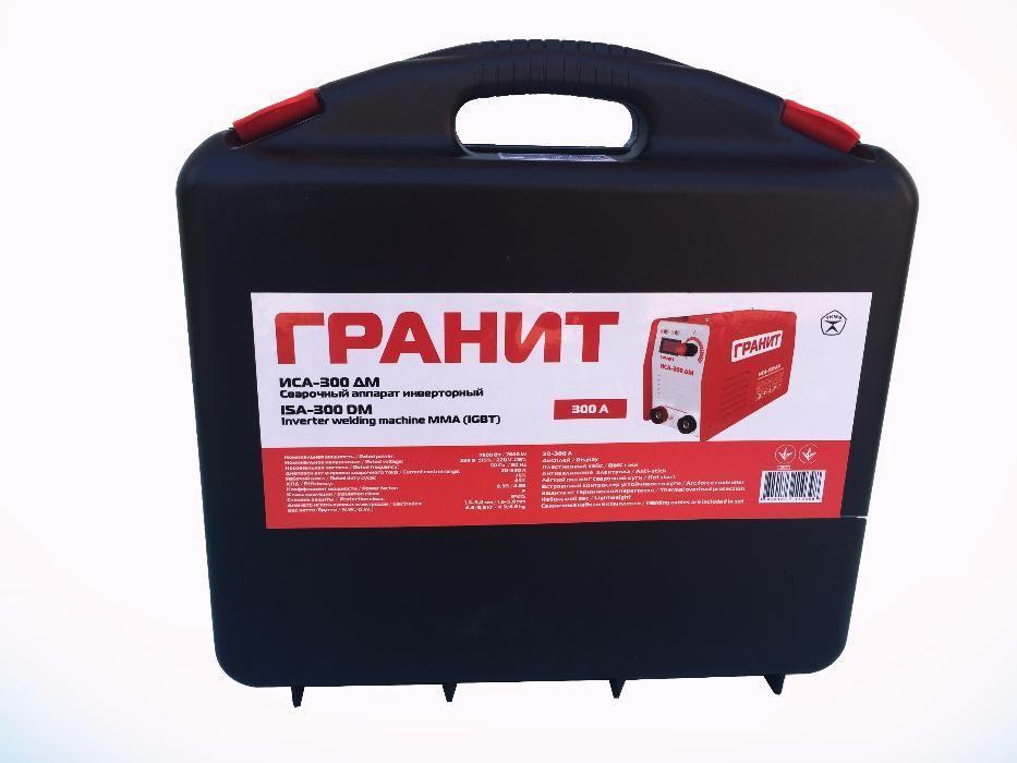 Сварочный инвертор Гранит ИСА-300 ДМ В кейсе