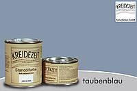 Стандолевая масляная краска жирная, верхний слой/Standölfarbe  Schlussanstrich taubenblau, сиреневая 0,75 l