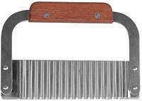 Резак Карбовочный с деревянной Ручкой 18см