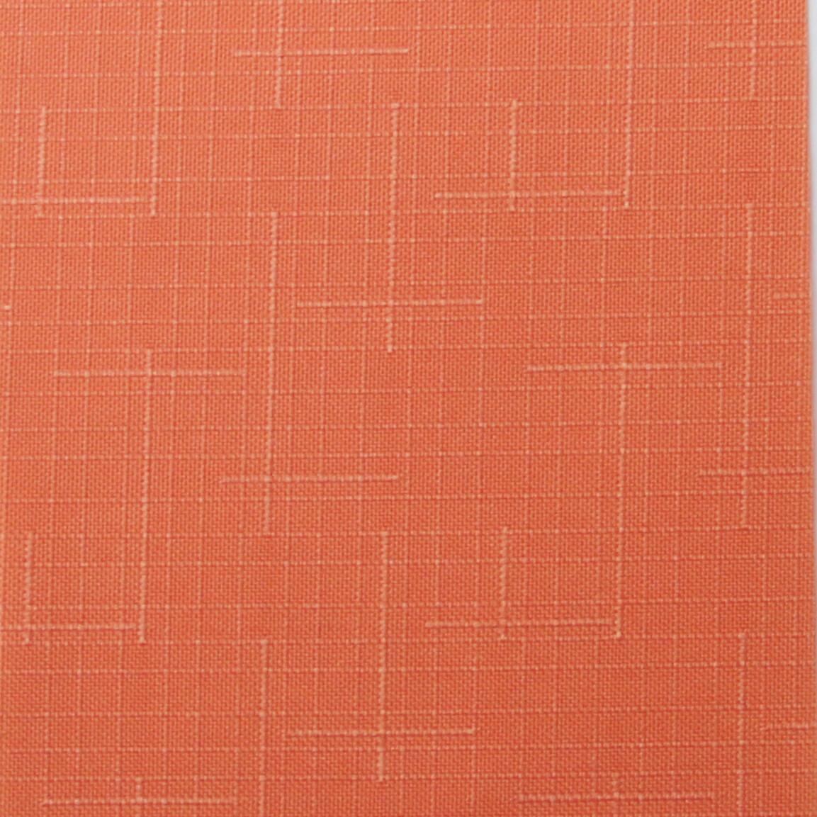Рулонні штори Тканина Льон 860 Червоно-оранжевий