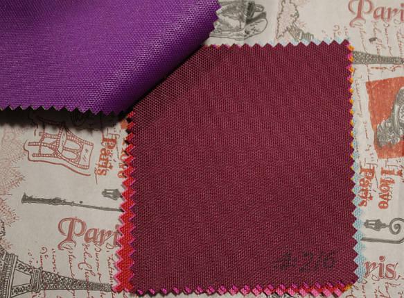 Ткань оксфорд 600d PU (полиуретан) бордовый, фото 2