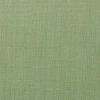 Рулонные шторы Ткань Лён 2098 Тёмно-зелёный