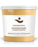 Кремовая арахисовая паста, свежая, натуральная, без добавок