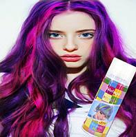 Спрей краска для волос Mefapo. 16 цветов.