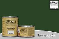 Стандолевая масляная краска жирная, верхний слой / Standölfarbe  tannengrün, темно-зеленая 0,75 l