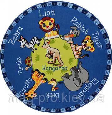 Детский ковер ANIMAL PLANET, фото 2