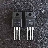 Комплект транзисторов Epson A2222+C6144 (2 шт) 2SC6144 + 2SA2222