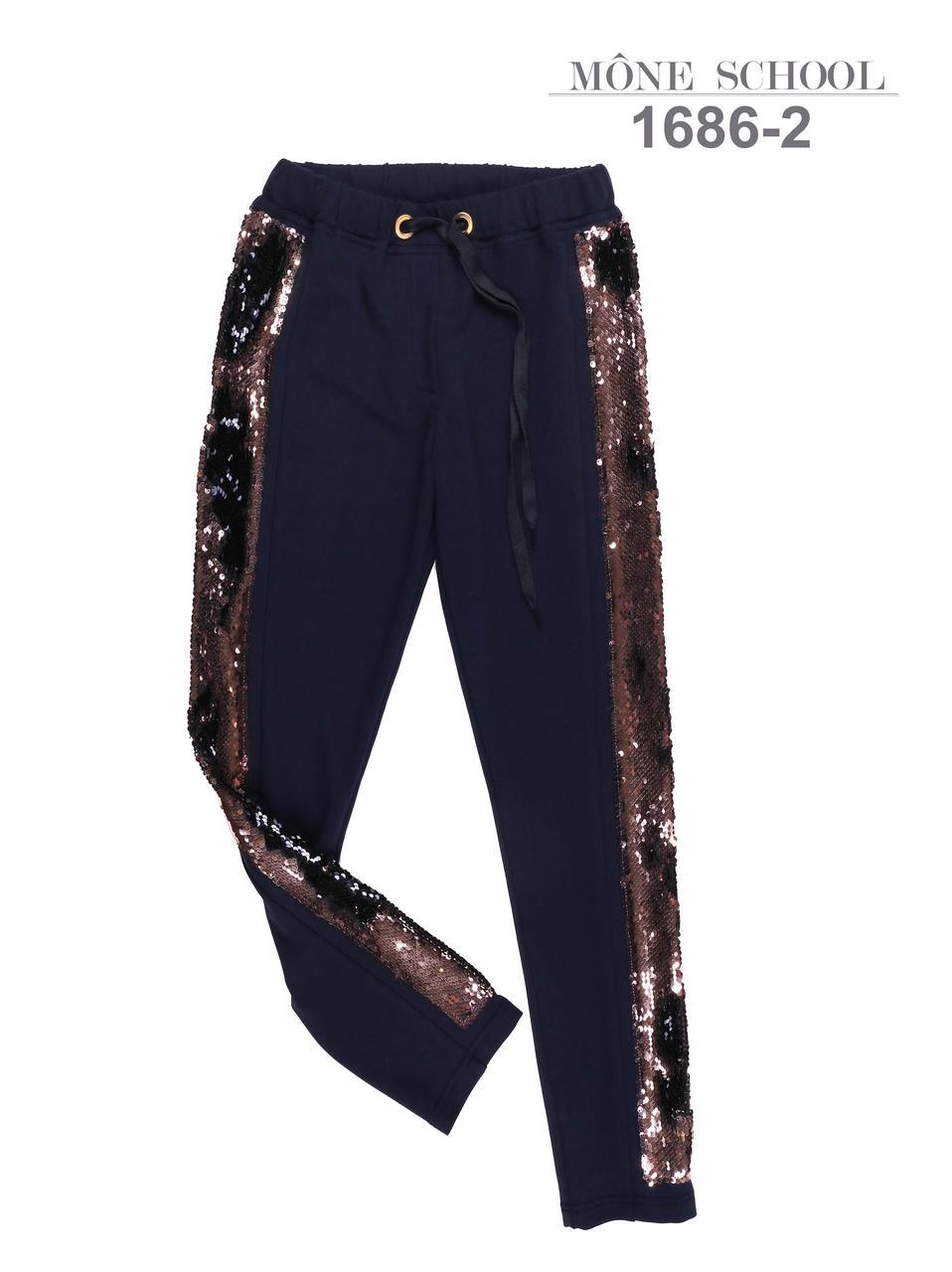 Спортивные брюки для девочки тм Моне р-р 140