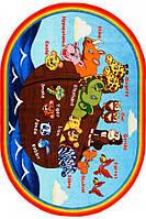 Детский ковер ANIMALS SHIP ANTI-SLIP