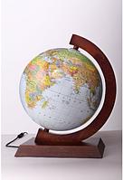 Глобус Glowala 320мм физико-политический с подсветкой (русский язык)
