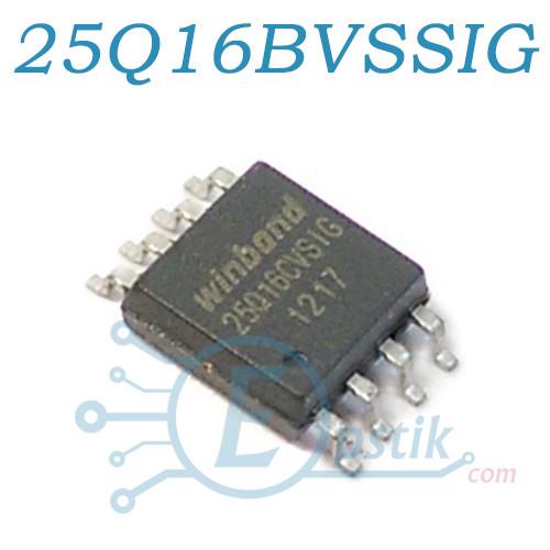 W25Q16BVSSIG, Микросхема памяти 200mil, SOP8