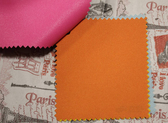 Ткань оксфорд 600d PU (полиуретан) оранжевый, фото 2