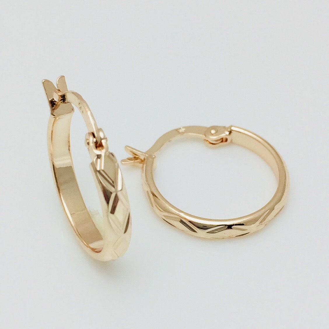 Сережки кільця жіночі Fallon Jewelry