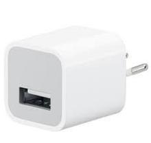 USB-зарядка адаптер питания 5V 1A белый