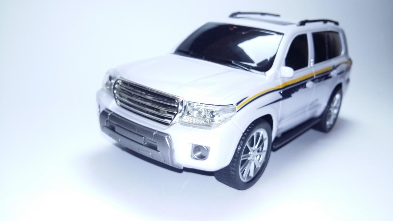 Джип на радиоуправлении 1:14 Toyota Land Cruiser 200 Крузак Белый