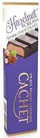 Шоколадный батончик Cachet  черный с фундуком 75г Бельгия