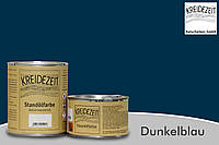 Стандолевая масляная краска жирная, верхний слой / Standölfarbe  dunkelblau, темно-синяя  2,5 l