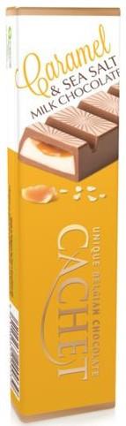 Шоколадный батончик Cachet  молочный карамель и соль 75г Бельгия