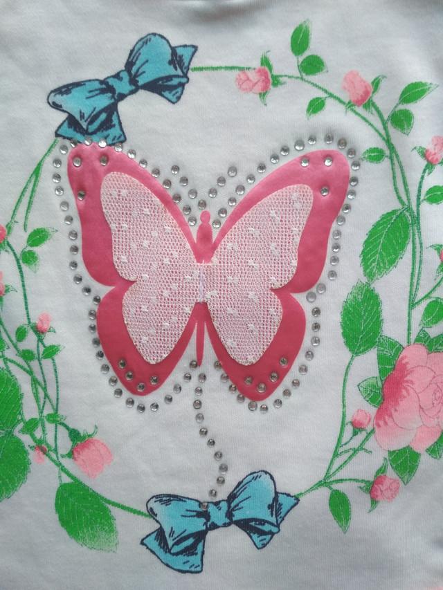 Боди на девочку butterfly 62, 68, 74, 80 см