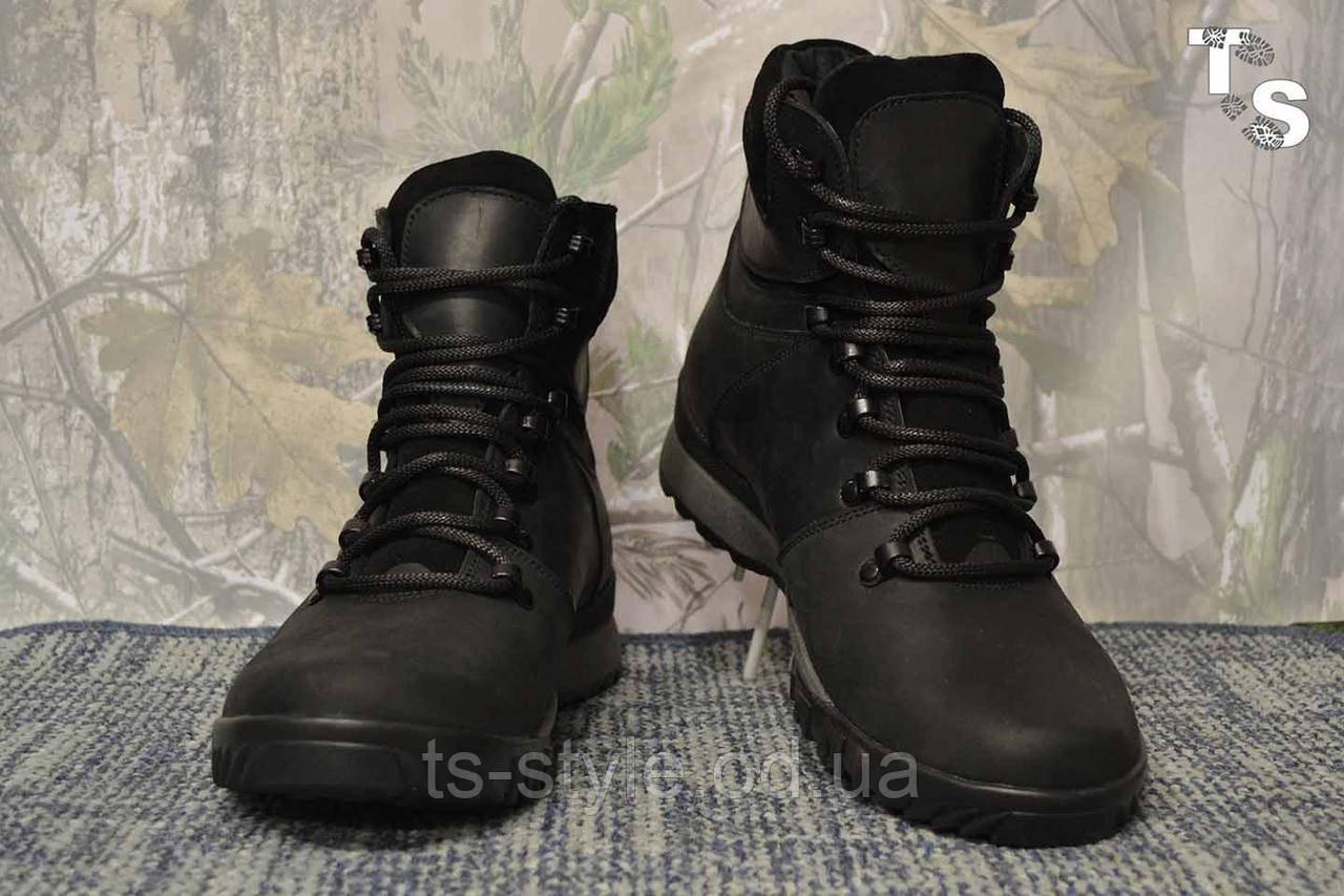 Ботинки Sr-4U BLACK утепленные