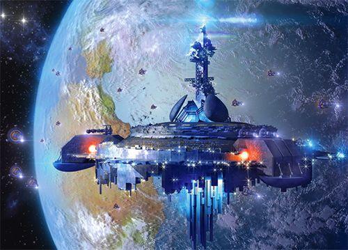"""Пазлы """"Космический корабль"""", 120 элементов"""