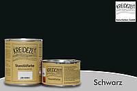 Стандолевая масляная краска жирная, верхний слой / Standölfarbe schwarz, черная 2,5 l