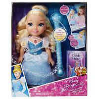 Интерактивная кукла Дисней принцесса Золушка  Disney Princess Cinderella Doll with Magical Wand Blonde