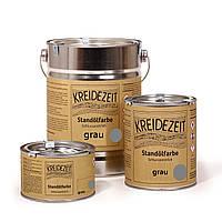Стандолевая масляная краска жирная, верхний слой / Standölfarbe grau, серая 2,5 l