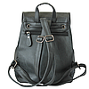 Черный рюкзак для девушки, фото 2