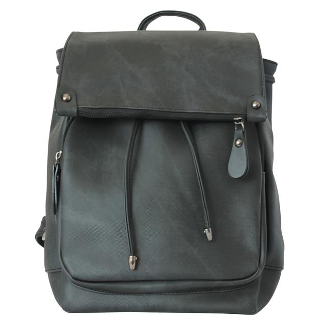 Черный рюкзак для девушки